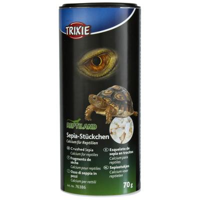TRIXIE Sepia-Stückchen, Calcium für Reptilien