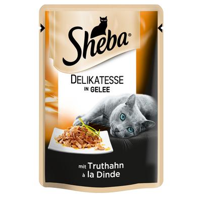 Sheba - Delikatesse in Gelee im Portionsbeutel