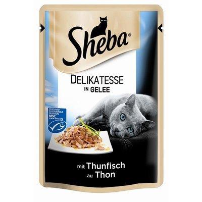 Sheba Katzenfutter Delikatesse in Gelee