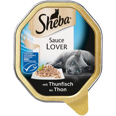 Sheba Schale - Sauce Lover, Thunfisch 22x85g