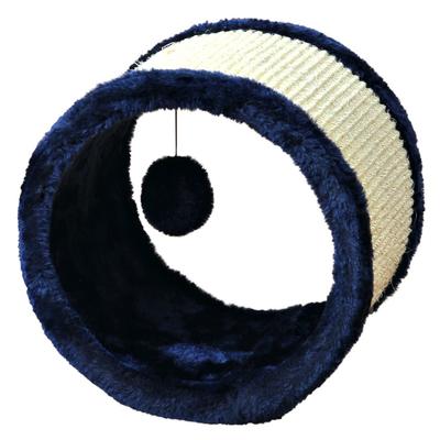TRIXIE Sisal-Spielrolle für Katzen, ø 23 × 20 cm, blau Preview Image