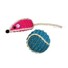 Trixie Sisal-Spielzeug-Set für Katzen