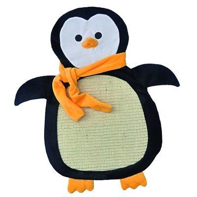 Aumüller Sisalkratzbrett Schmuse-Pinguin Paddy mit Katzenminze