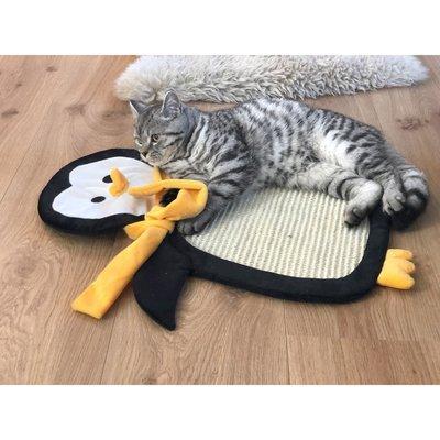 Aumüller Sisalkratzbrett Schmuse-Pinguin Paddy mit Katzenminze Preview Image
