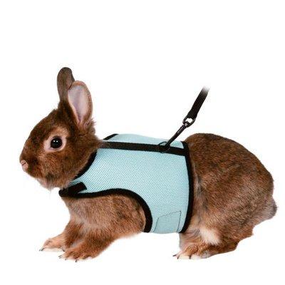 TRIXIE Softgeschirr für Kaninchen mit Leine Preview Image