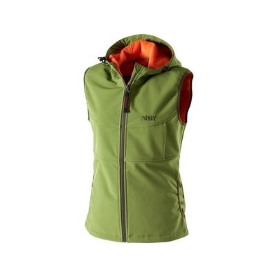 Softshell-Weste für Damen Yunga von Owney, XS, grün