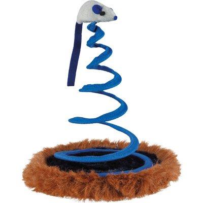 TRIXIE Spielmaus auf Spiralfeder Katzenspielzeug