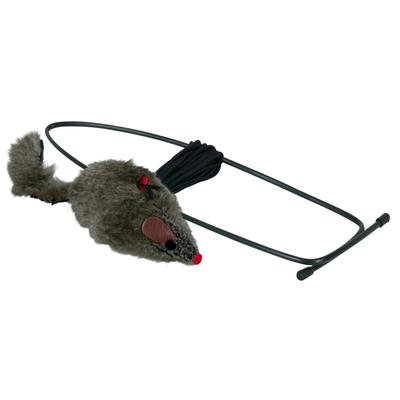 Spielmaus für Türrahmen Katzenspielzeug, 8 cm
