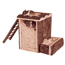 TRIXIE Spielturm und Buddelturm Hamster Maus