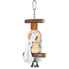 TRIXIE Spielzeug für Vögel aus Holz Preview Image