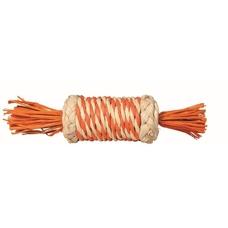 Stroh-Rolle für Kaninchen und Meerschweinchen