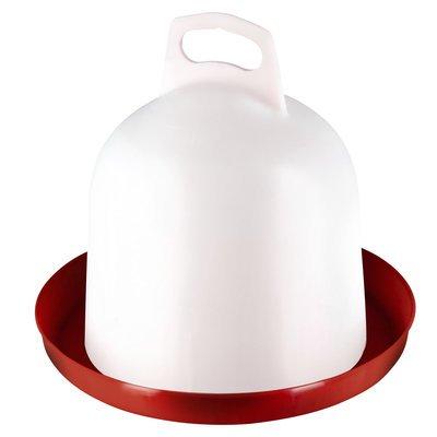 Stükerjürgen Doppelzylinder-Kunsstofftränke für Geflügel Bodenhaltung