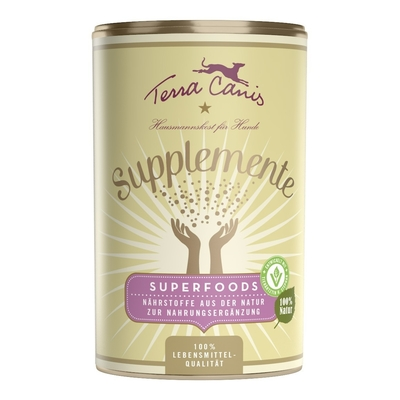 Terra Canis Supplemente Superfoods