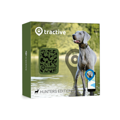 Tractive GPS Ortung für Hunde Jagd Edition