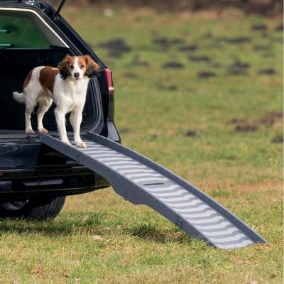 Trixie Auto Hunderampe, 3-fach klappbar