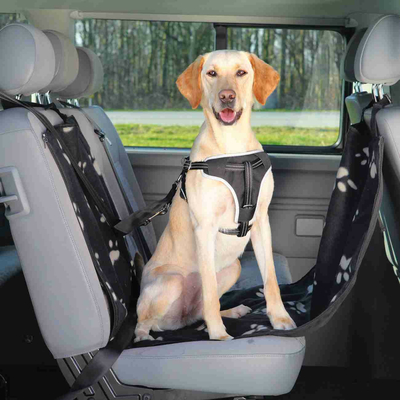 TRIXIE Auto-Schondecke für die Rückbank 1-Sitz