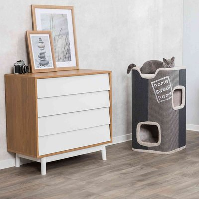 TRIXIE Cat Tower Jorge Home Sweet Home Preview Image
