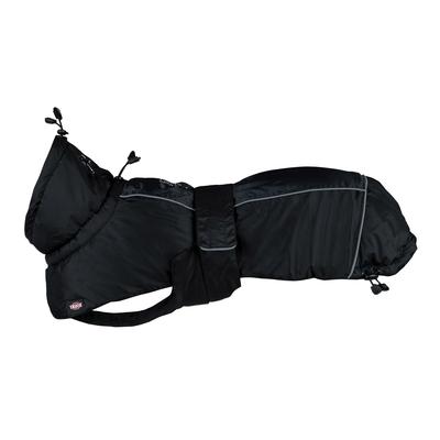 Trixie Hundewintermantel Prime, M: Brust 53-75 cm, Rücken 50 cm, Bauch 48-74 cm, schwarz/grau