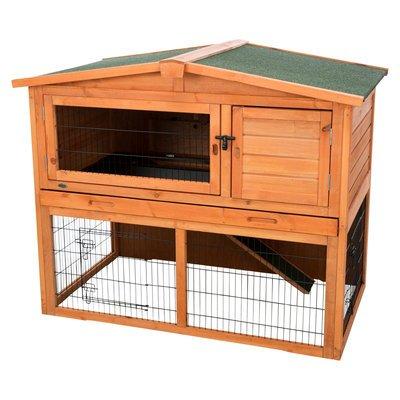 TRIXIE Kaninchenstall Natura mit Freilaufgehege Preview Image
