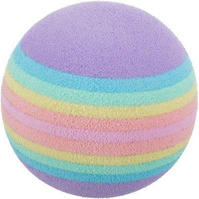 TRIXIE Katzenball 4 Rainbow-Bälle