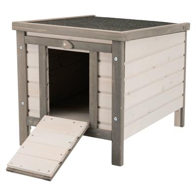 TRIXIE Kleintierhaus für Freilaufgehege  grau