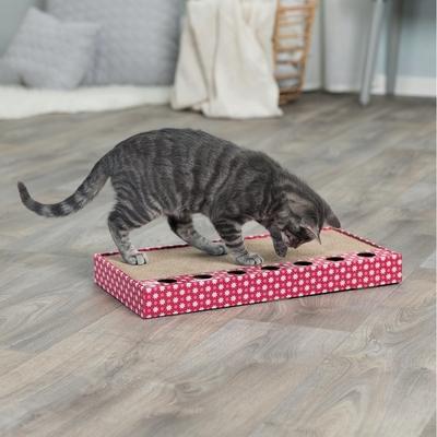 TRIXIE Kratzpappe für Katzen mit Spielzeug Preview Image