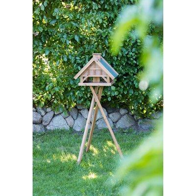 TRIXIE natura Vogel Futterhaus aus Holz mit Ständer Preview Image
