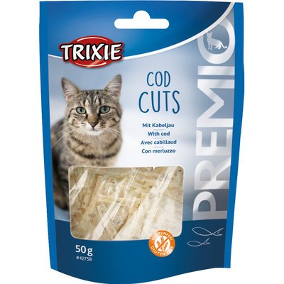 TRIXIE PREMIO Fisch Leckerli Cod Cuts