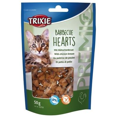 Trixie PREMIO Katzensnack Barbecue Hearts, 50 g