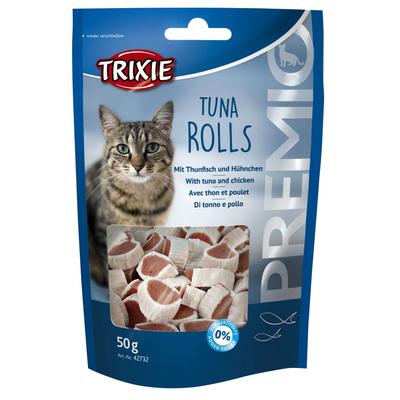 Trixie PREMIO Tuna Rolls für Katzen, 50 g