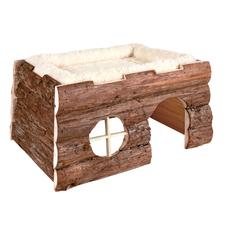 Trixie Tilde Kleintier Haus mit Kuschelbett
