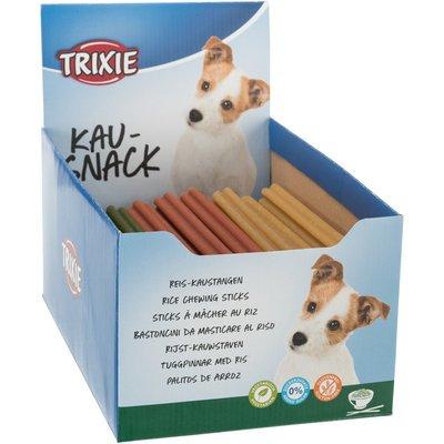 TRIXIE Vegetarische Reis Kaustangen für Hunde