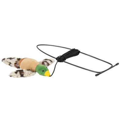 TRIXIE Vogel für Türrahmen Katzenspielzeug