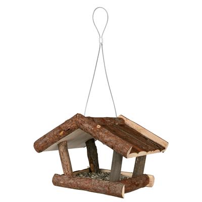 Trixie Vogelhaus aus Naturholz Futterhaus