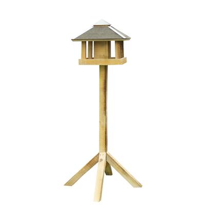 Vogelhaus Blaavand mit Silo