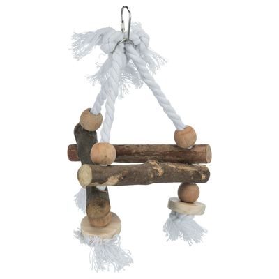 Trixie Vogelschaukel, dreieckig, Naturholz