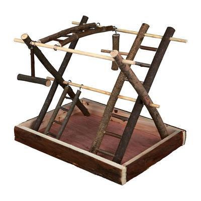 Trixie Vogelspielplatz aus Holz mit Leitern