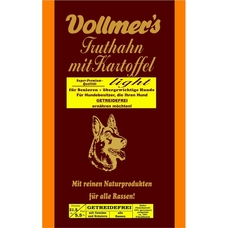 Vollmers Truthahn mit Kartoffel light Hundefutter