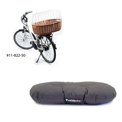 wauweich Fahrradkorb Einlage für Hunde