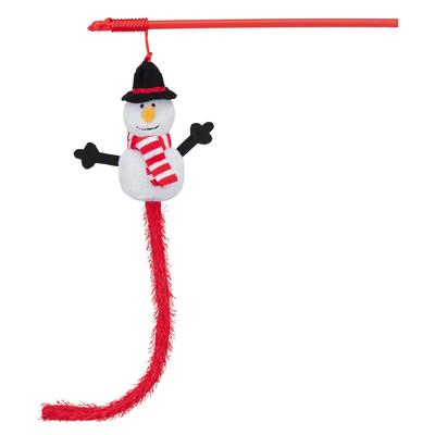 Trixie Weihnachts-Spielangel mit Schneemann
