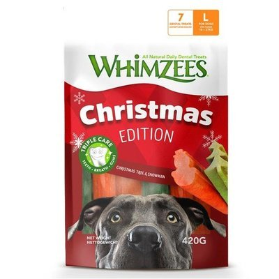 Whimzees Dog Snack Mixpack Weihnachten