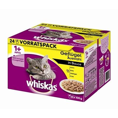 Whiskas Frischebeutel Multipack 1+ Katzenfutter