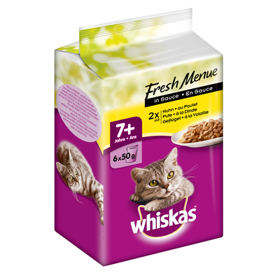 Whiskas Senior 7+ - Fresh Menue in Sauce