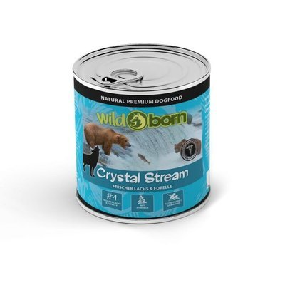 Wildborn Dose Crystal Stream Lachs & Forelle