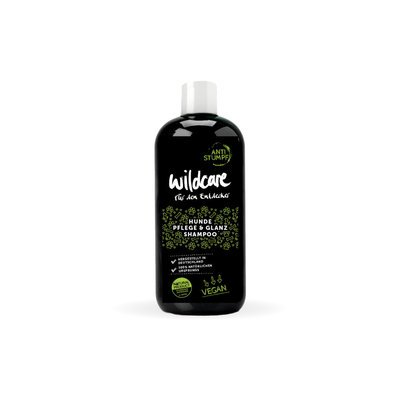 Wildcare Dog Pflege & Glanz Hundeshampoo Anti Stumpf