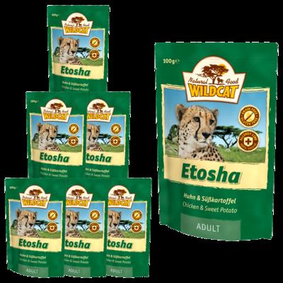 Wildcat Etosha Nassfutter Pouches, 7 x 100 g