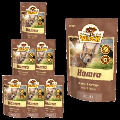 Wildcat Hamra Nassfutter Pouches, 7 x 100 g