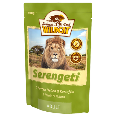 Wildcat Serengeti  Nassfutter Pouches