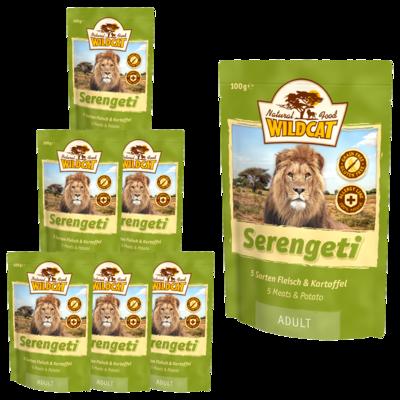 Wildcat Serengeti  Nassfutter Pouches, 7 x 100 g - Adult