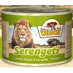 Wildcat Serengeti SENIOR Katzenfutter Nassfutter Dosen